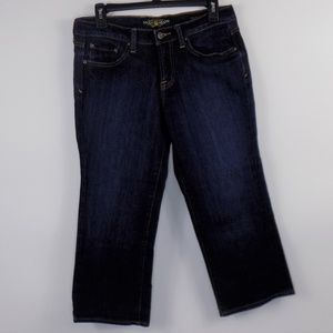 Lucky Brand Classic Rider Cropped Jeans Size 6/28